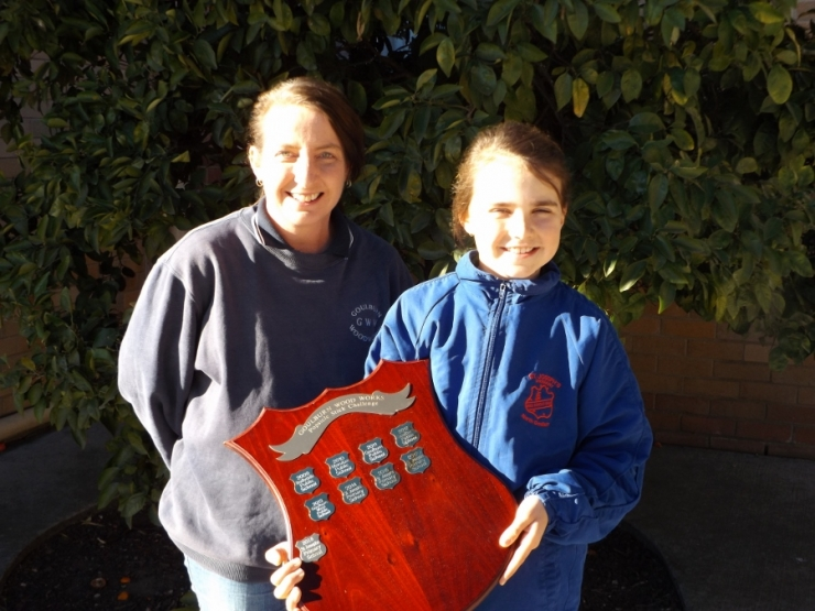 Paige wins woodwork comp